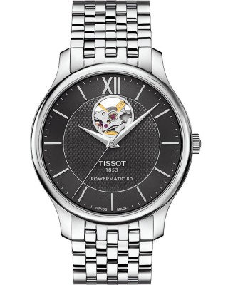 Tissot Tradition Powermatic 80  Open Heart T0639071105800